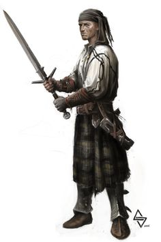 scottish pirate by pusiaty on DeviantArt
