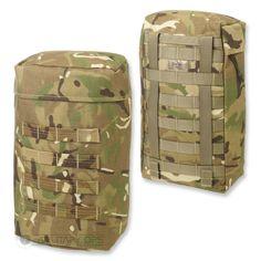 CQC SENTINEL SIDED POCKET POUCH MOLLE MTP MULTICAM BRITISH ARMY MILITARY #CQC