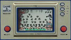 "The original Game & Watch from Nintendo was ""Fire"" and I managed to clock it several times."