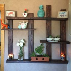 Pallet Shelf for Wall Decor | 101 Pallet Ideas