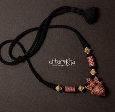 Jewelry Design Earrings, Gold Jewellery Design, Necklace Designs, Beaded Jewelry, Beaded Necklace, Tibetan Jewelry, Indian Jewelry, Gold Haram, Gold Jewelry Simple