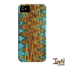 iPhone 5 Case  Eclectic Funky Abstract Art by Ingrid by ingridsart