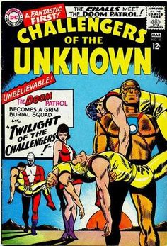 Challengers of the Unknown #48 - Twilight of the Challengers! (Issue)