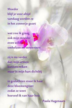gedicht overlijden mama