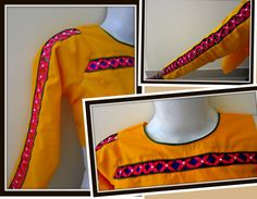 X - PATCH WORK FOR NECKLINE AND SLEEVES for KURTIS / SALWAR KAMEEZ - DESIGN IT YOURSELF - YouTube