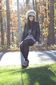 Style File (via Forever 21 Hats, Modcloth, Goth, Tights, Fancy, Style Inspiration, Fashion Outfits, Jackets, Dresses