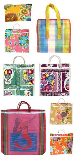 Mexican bags, perfect to carry your groceries