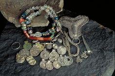 Viking Age Hoard find, Dalsland, Sweden.
