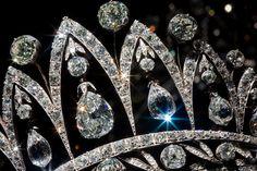 Faberge Tiara. Jeweler to Tsars in Russia.