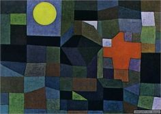 Paul Klee - Fire at Full Moon 1933.