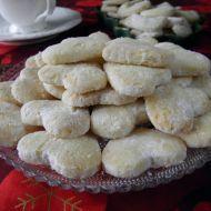 Fotografie receptu: Pískové vánoční cukroví Baking Recipes, Cookie Recipes, Dessert Recipes, Desserts, Czech Recipes, My Dessert, Mini Cheesecakes, Sweet And Salty, Holiday Cookies