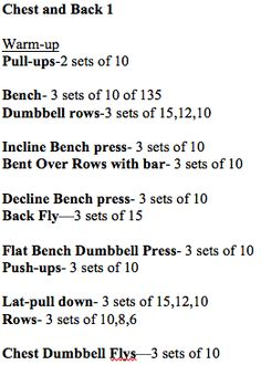 Chest and Back Workout--1