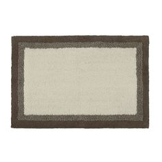 The Madison Park Amherst Rug provides a stylish and sophisticated look for your bathroom. Made from 100% cotton this rug is incredibly soft for your feet to rest on. The neutral color palette can fit into your existing décor beautifully.