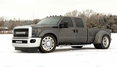 "2013 FORD F350 Dual Rear Wheel 24"" IMPACT"