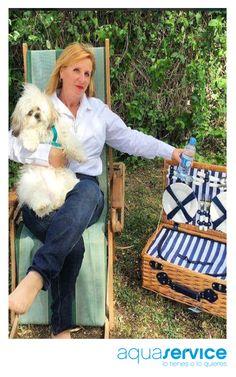 ¡Ideal! Nos encanta la foto que nos envía otra de las ganadoras de nuestro sorteo de Pascua disfrutando de su cesta.