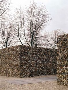 Maze, gabion fort, retaining wall, privacy...