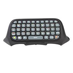 teclado para xbox 360 controlador (preto) – BRL R$ 30,44