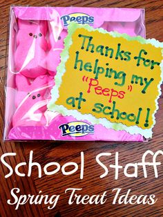 Easter Gifts for Teachers & staff