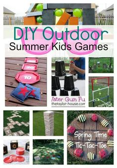 Diy summer games