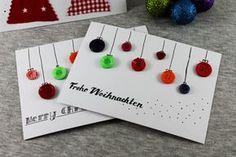 naehklimbim - mit Liebe gemacht ♥: DIY | last minute Weihnachtskarten