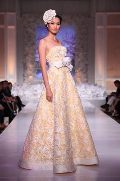 Denny Wirawan Un Amore; Unconventional Bridal Gowns 2013