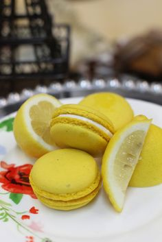 Lemon Macarons from Amelie's French Bakery in Charlotte, NC. Haviv Photographic