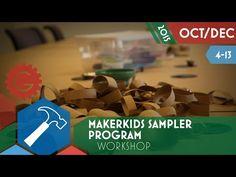 MakerKids Sampler Program - Toronto Geek Event Calendar - YouTube Programming For Kids, Event Calendar, Toronto, Workshop, Geek Stuff, News, Youtube, Geek Things, Atelier
