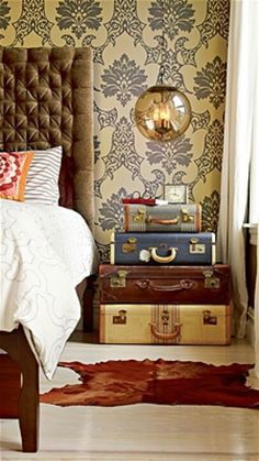 INFP (The Idealist)  |  Decorating for your Personality  |  Mrs. Fancee design a restful guest room for the people you care about
