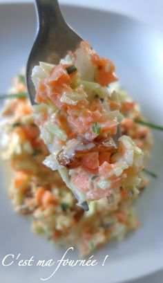 C'est ma fournée !: Coleslaw.....just perfect !