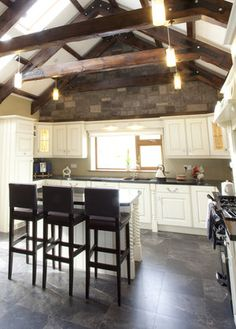 gaffnet-kitchen-interior New Builds, Kitchen Interior, House Design, Building, Table, Furniture, Home Decor, Decoration Home, Room Decor