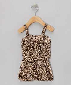 Take a look at this Black Cheetah Bow Romper - Infant & Toddler by Baby Gem by Royal Gem Clothing on #zulily today!