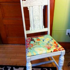 Refinished chair.