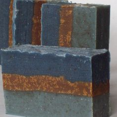 Midnight Nile-Herbal Shea Butter Soap with Atlantic Kelp, French Green Clay, Oatmeal and Honey