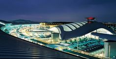 Incheon Airport. One of the world's best airports.   Agreed. LOVE that airport!