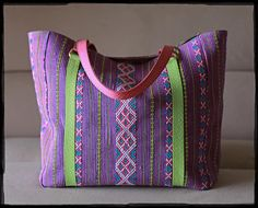GADHA 2 Bag with TIMOR handwoven cloth by LaksmiBatikBag on Etsy, $110.00