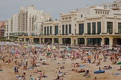 Biarritz, I stayed in the building to the left for  month in 2005 :)