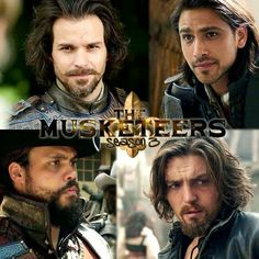Musketeers <<< Physical appearance and costume-wise, these four have never looked better than in Season Three