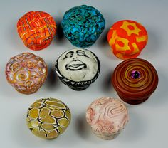 Amy Crawley's tutorial for covering wooden drawer pulls and cabinet knobs