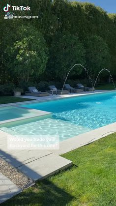 What do you think of this backyard?- What do you think of this backyard? Backyard Pool Landscaping, Backyard Pool Designs, Small Backyard Design, Swimming Pools Backyard, Small Backyard Landscaping, Swimming Pool Designs, Backyard Ideas, Arizona Landscaping, Landscaping Edging