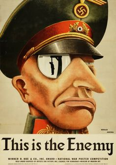 Military Poster / Print: This is the enemy | Pritzker Military Museum & Library | Chicago