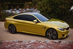 bmw m4 concept coupe - can I have this in black please? Gah!