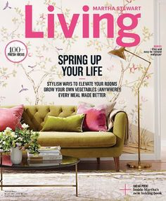 Martha Stewart Living magazine is American magazines which reflects about Cooking, decorating, collecting and more.    #HomeGarden, #HomeLiving