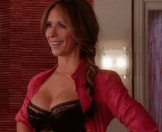 Jennifer Love Hewitt busty in lingerie on 'The Client List' ~ Celebrity Plunge ~ Gif