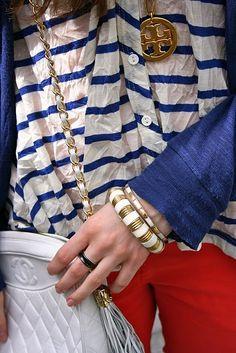 Tory Burch & Chanel -- two phenomenal women