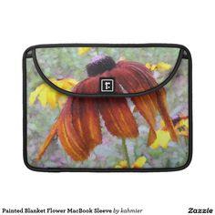 Painted Blanket Flower MacBook Sleeve Sleeve For MacBook Pro