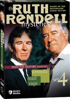 Ruth Rendell Mysteries ~ Adaptations of the works of Ruth Rendell are part  mystery, thriller and suspense.