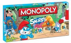 Monopoly: The Smurfs Collector's Edition Board Game (Disclosure - Affiliate link)