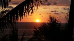 Sunset in Ojochal, Costa Rica