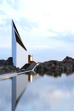 Futuristic homes design concepts by Roman Vlasov