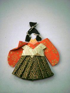 Menino samurai - marcador de páginas